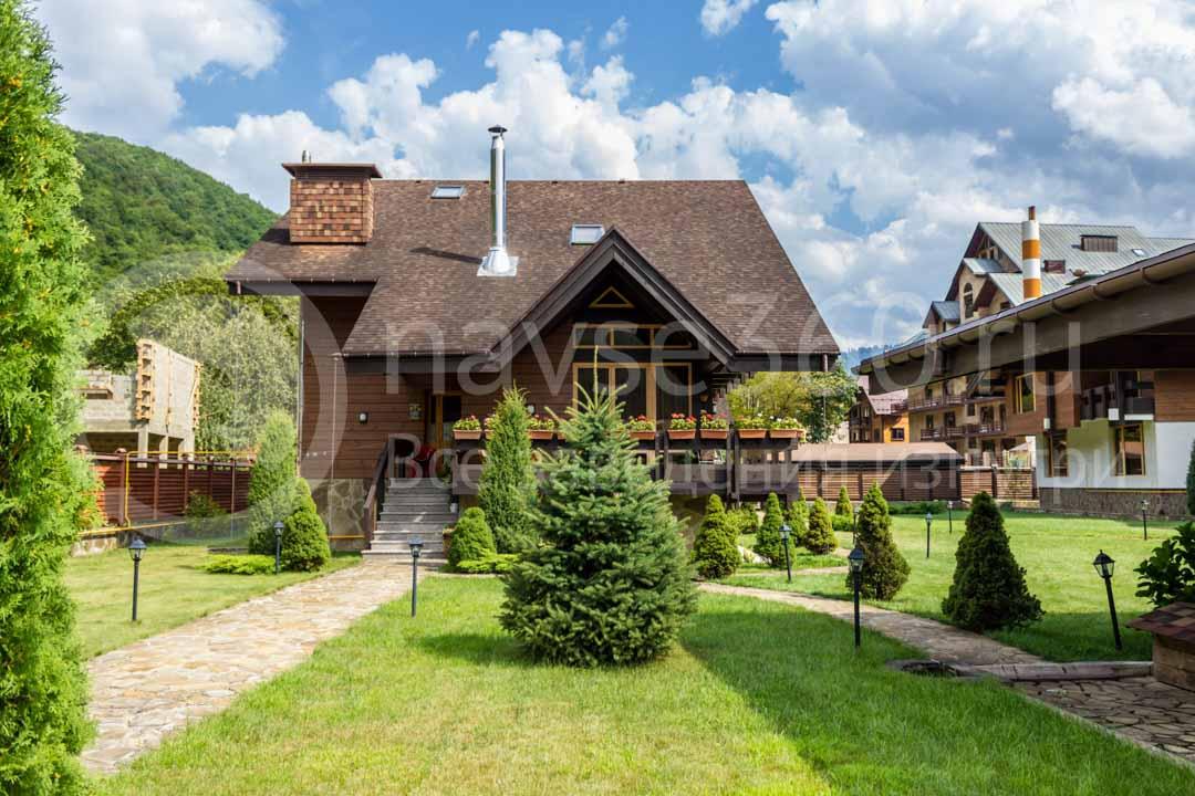 Гостиница на Красной поляне - Хомутовской дворик 4