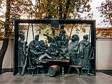 """Скульптура """"Запорожские казаки пишут письмо Турецкому султану"""""""
