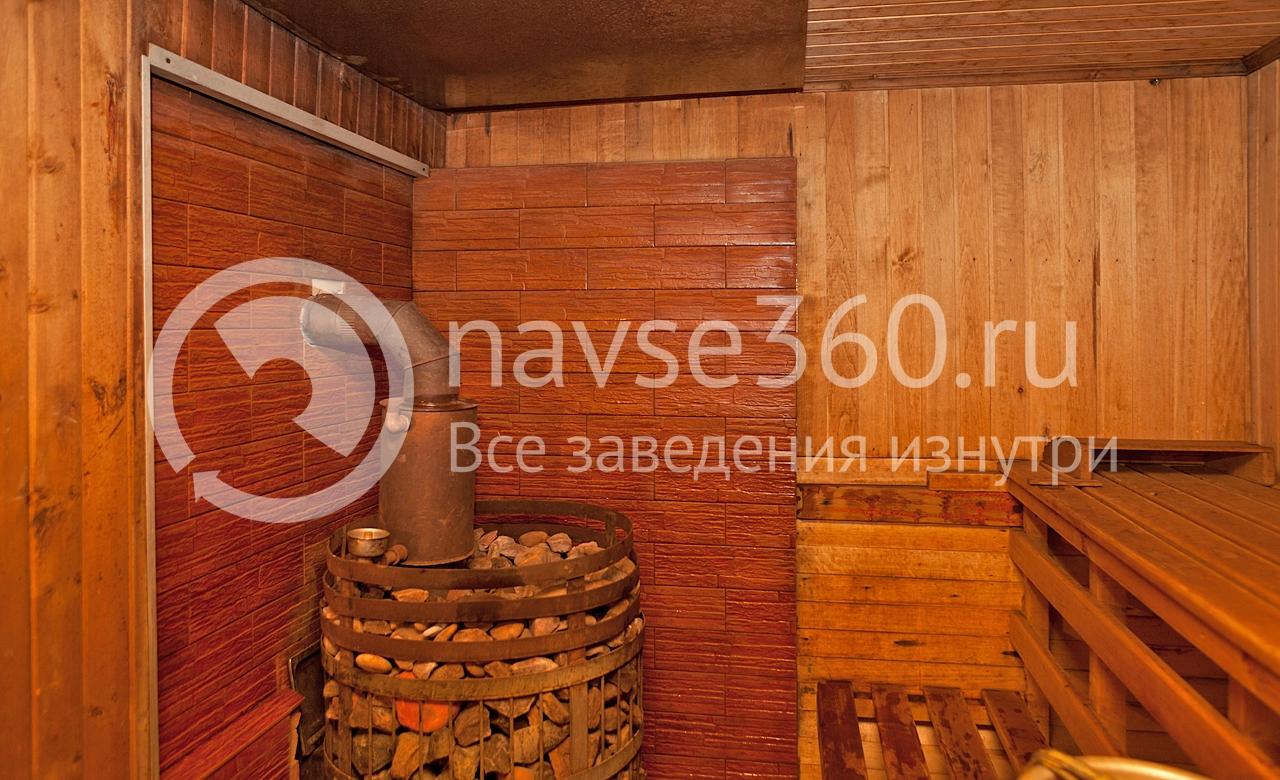 печь русская баня в Козино