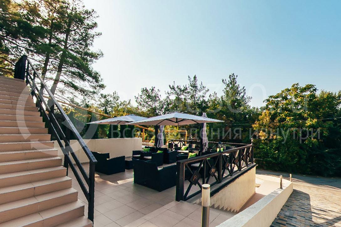 Отель Парк Хаус Дивноморское, летнее кафе