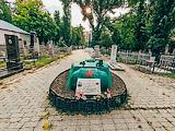 Могила танкиста. Всесвятское кладбище.