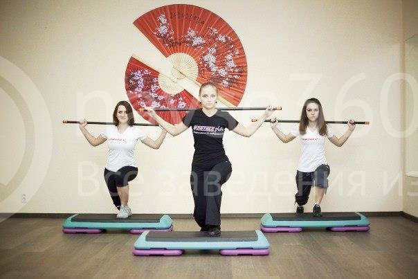 Красивые спортивные девушки ;) Фитнес плаза.