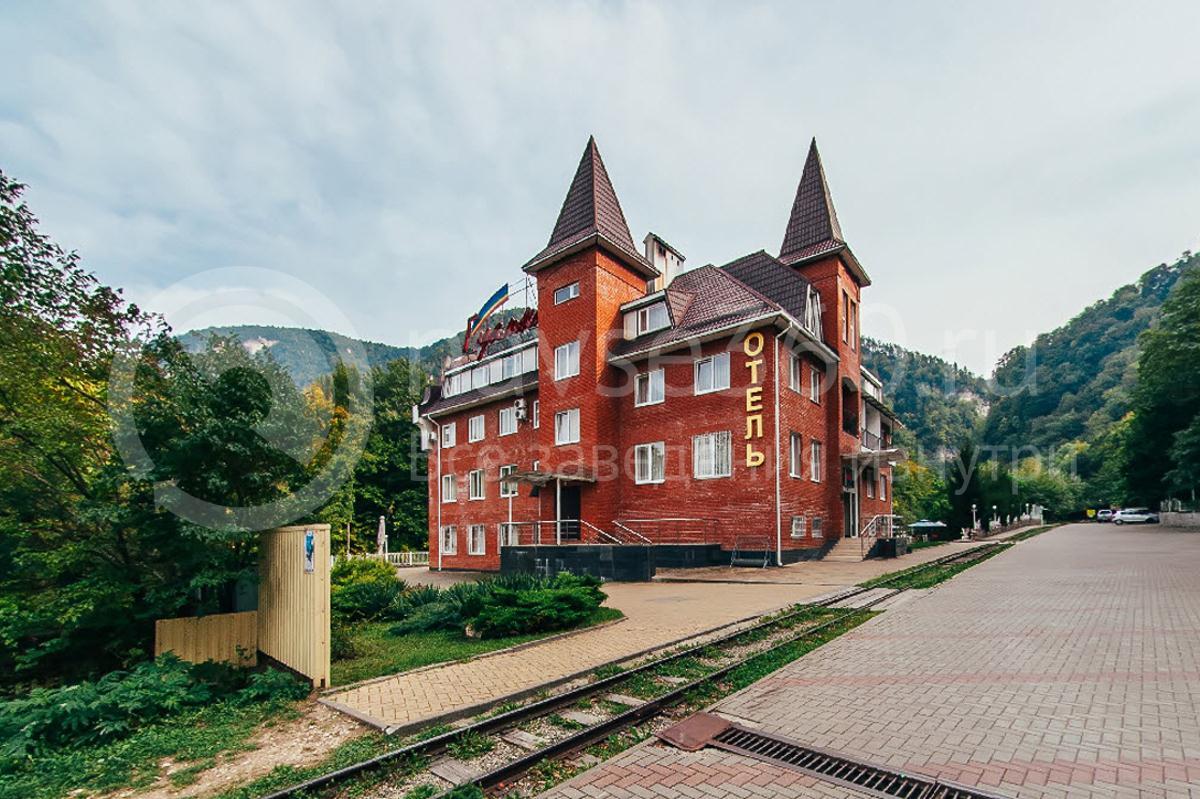 Отель Гуамка, Краснодар, фасад