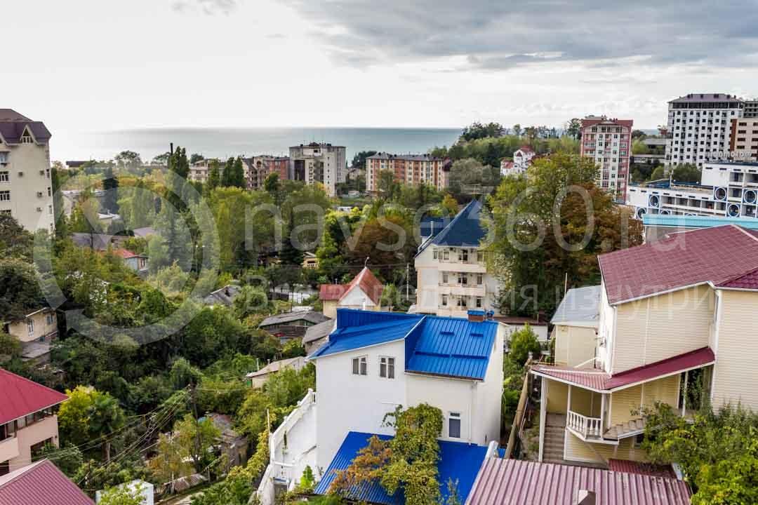 Вид из гостиницы Marika в Сочи