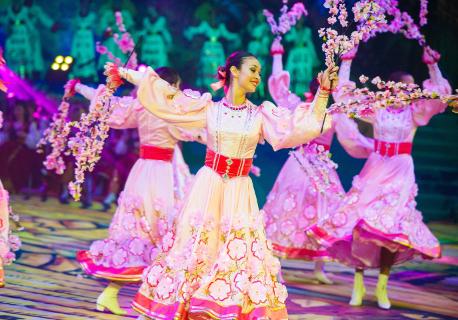 Концерт Государственного концертного ансамбля танца и песни «Кубанская казачья вольница»