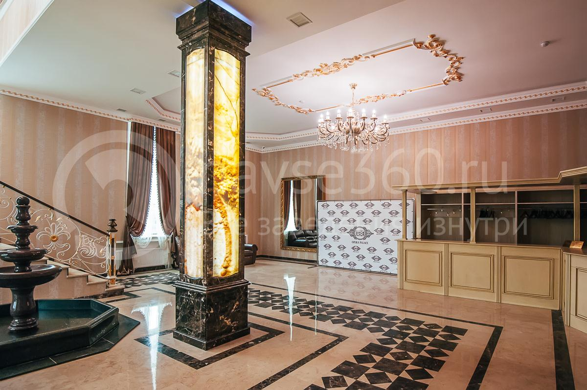 Ресторан, Банкетный зал, Опера палас, Краснодар, холл 1 этажа 1
