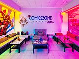 Comics Zone, центр паровых коктейлей