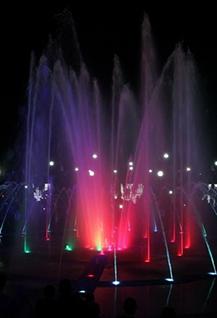 Светомузыкальное шоу «Поющие фонтаны»