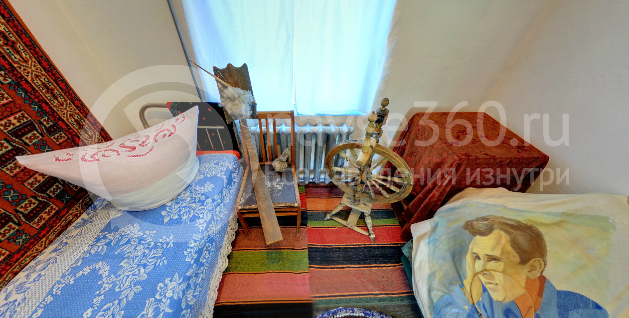 Спальня матери Шукшина