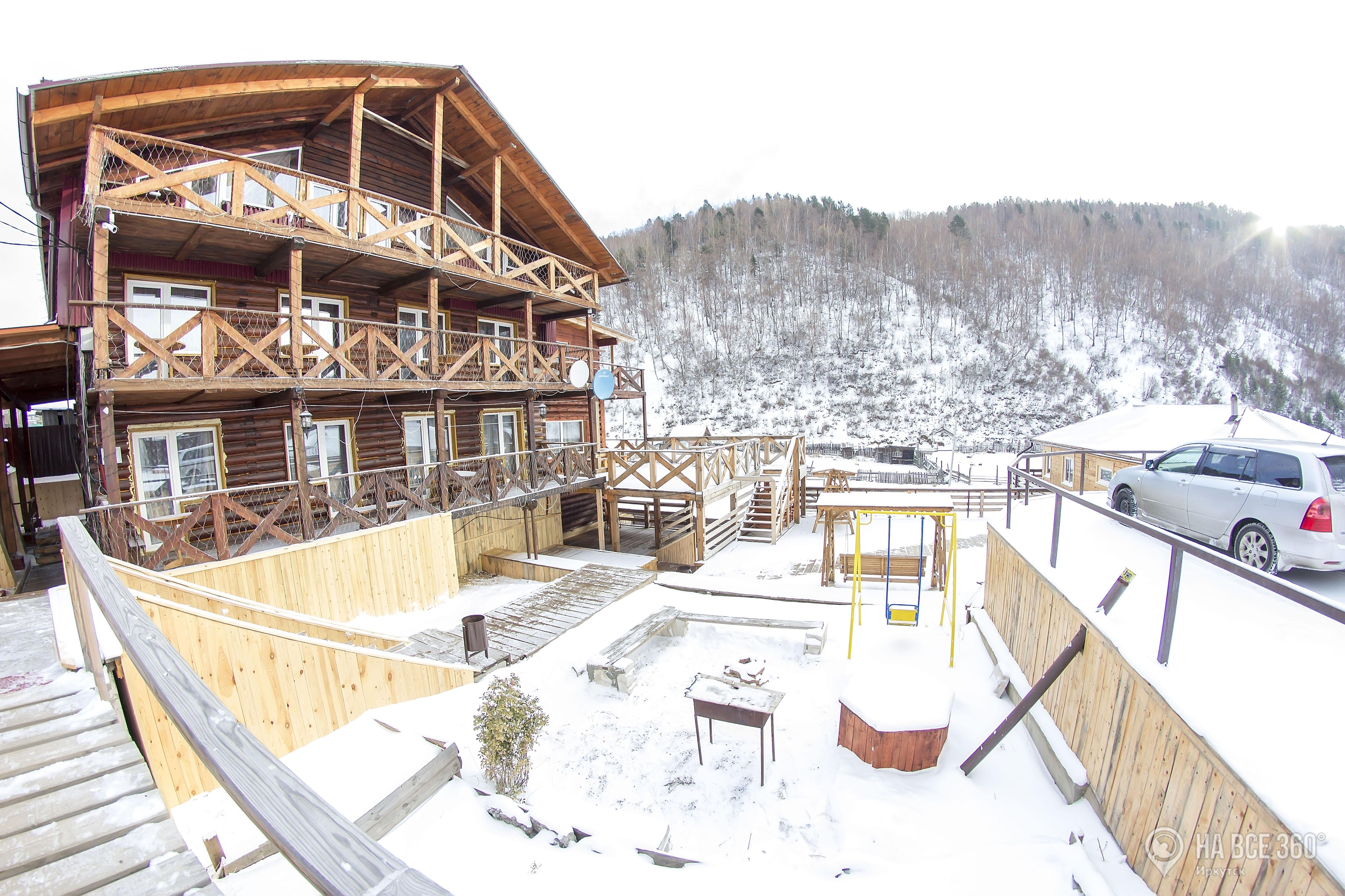 Гостиницы и Гостевые дома на берегу Байкала
