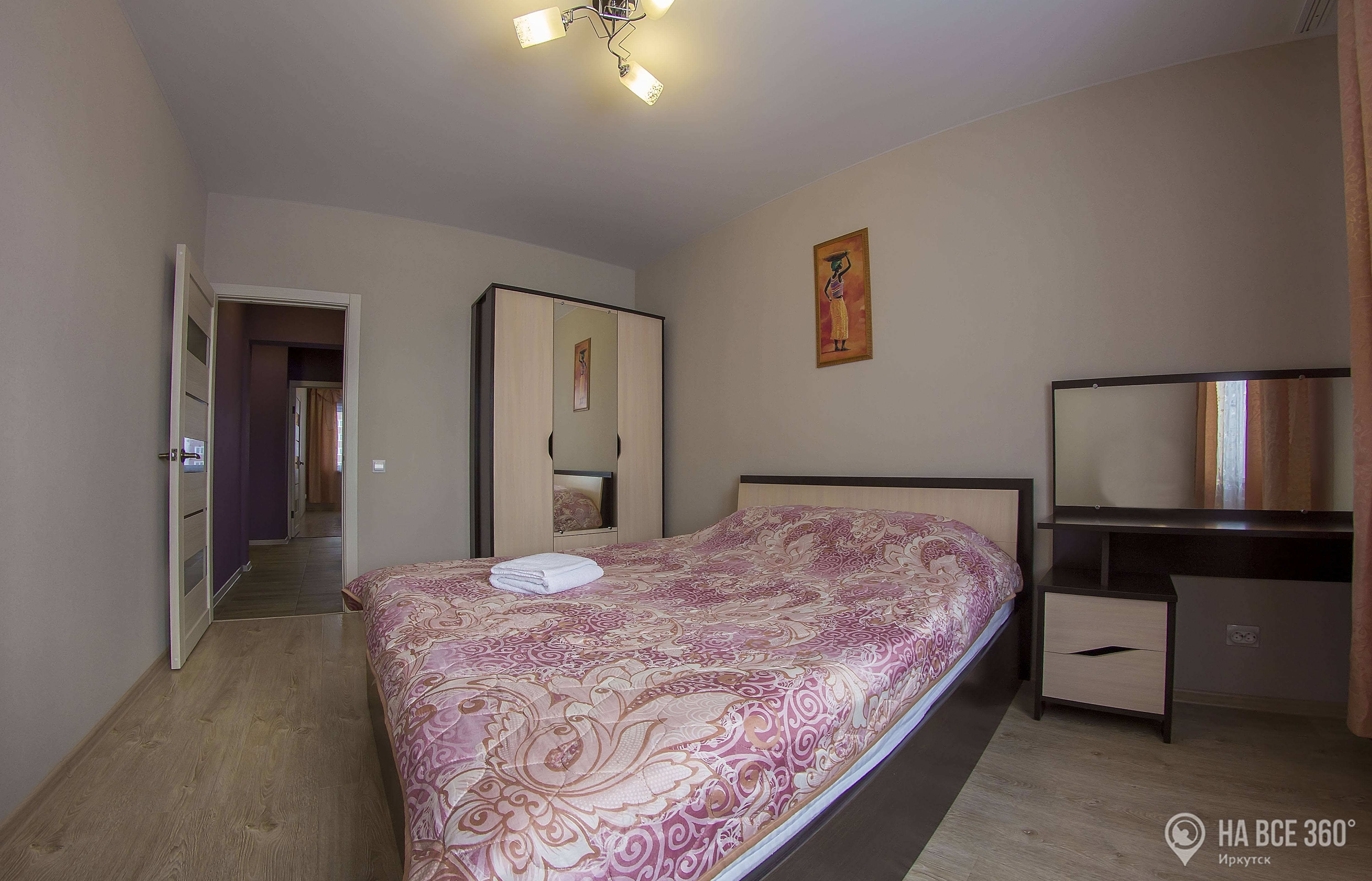 трехкомнатная квартира посуточно в иркутске