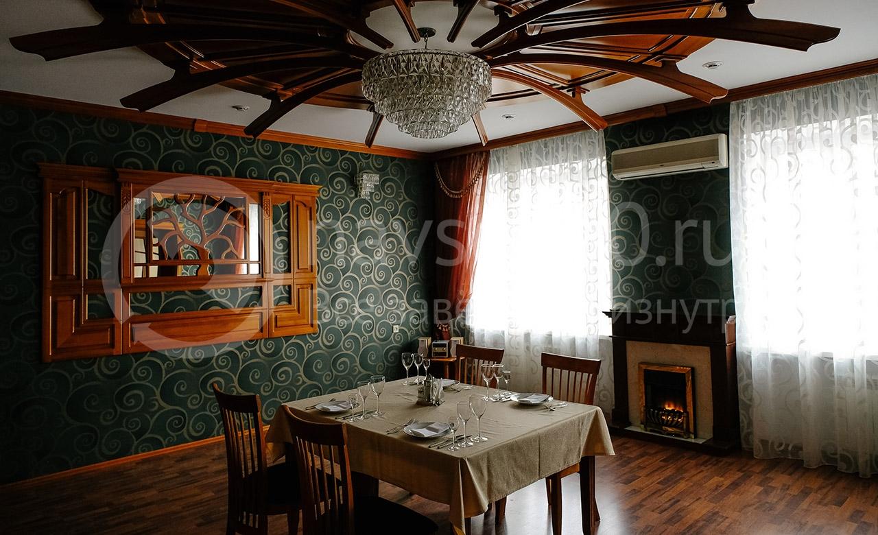Банкетный зал в гостинице Октябрьская в Томске на сайте tomsk.navse360.ru