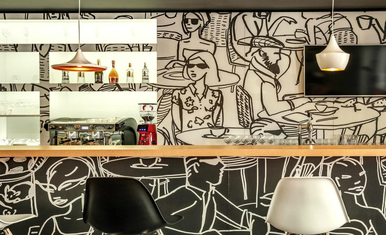 Отель Ibis Краснодар бар