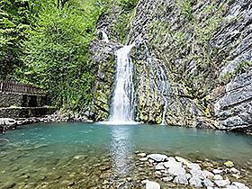 Змейковские водопады в Сочи. Адрес, фото, положение на карте, виртуальный тур, отзывы на сайте: sochi.navse360.ru