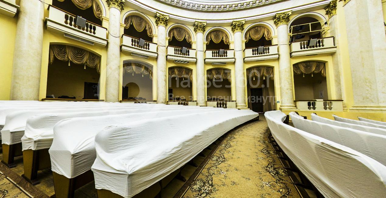 Зрительный зал Зимний театр