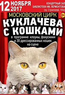 Московский цирк Куклачева с кошками