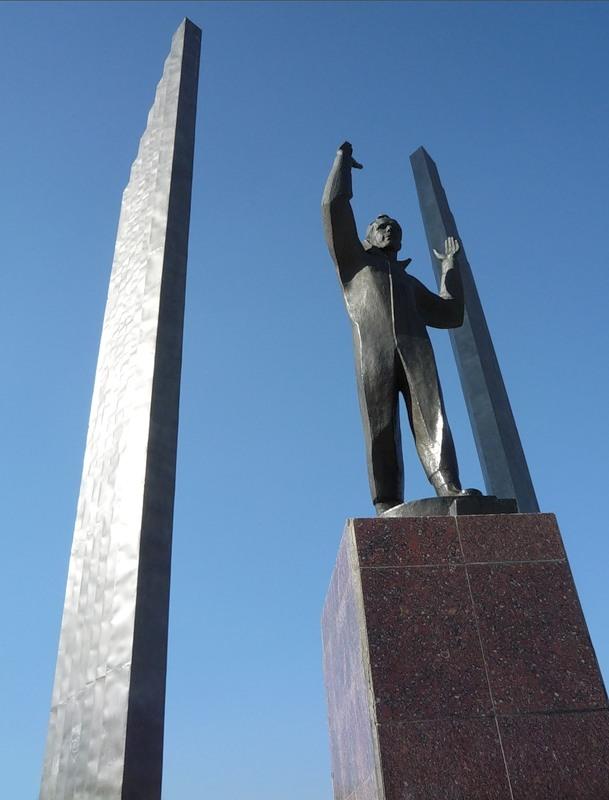 Памятник Ю.А. Гагарина