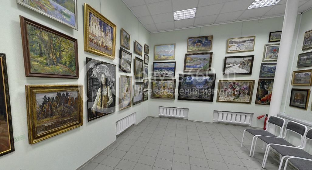 Экспозиция работ в арт-галерее Щетининых