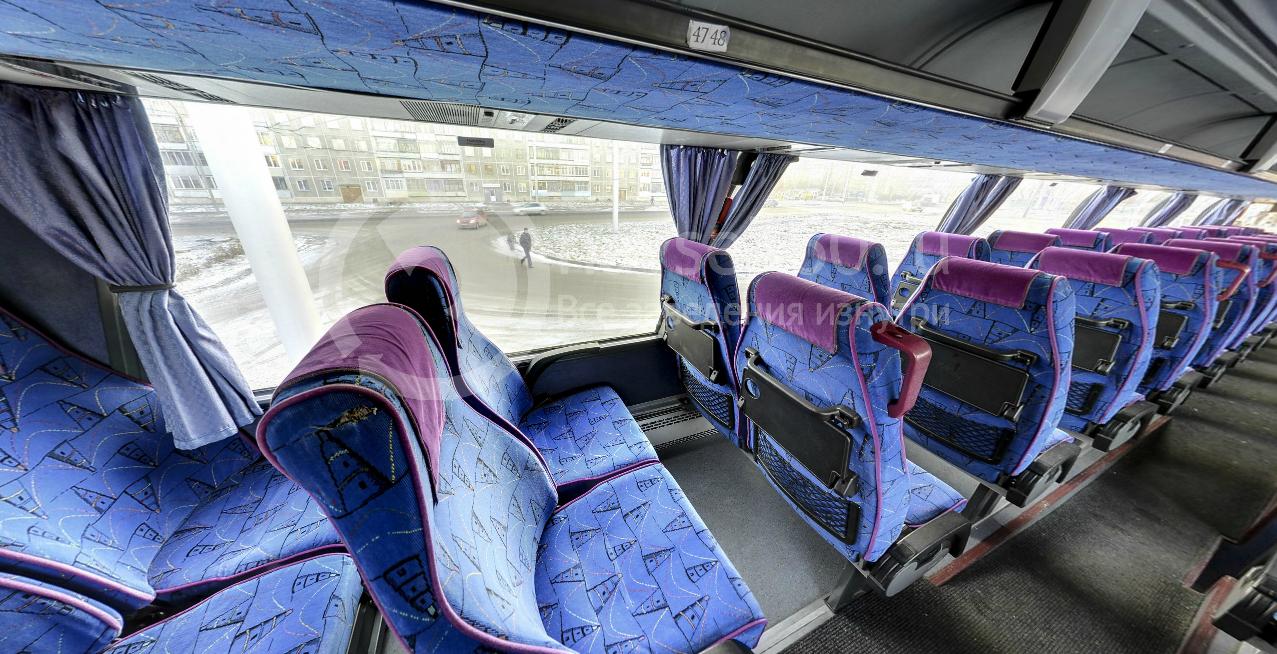 Второй уровень автобуса Авто Люкс