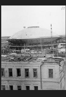 Реставрация в Казанском цирке