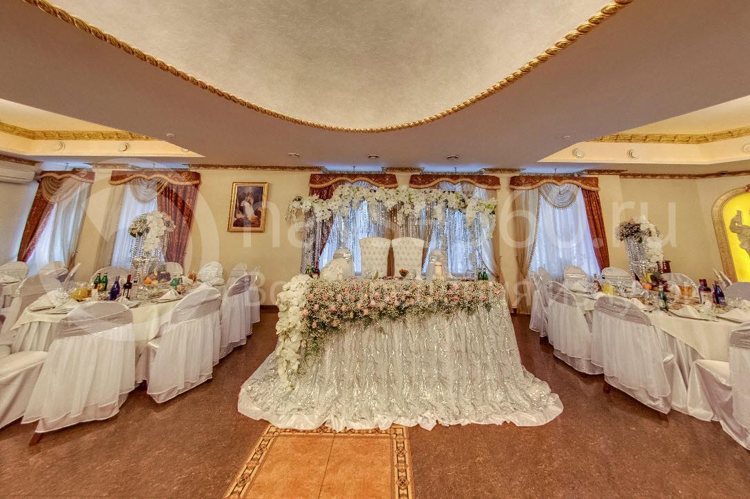 Банкетный зал Сенат, Краснодар, стол молодых