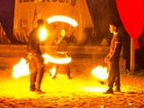 Fire-шоу на открытии сезона в замке Инстербург