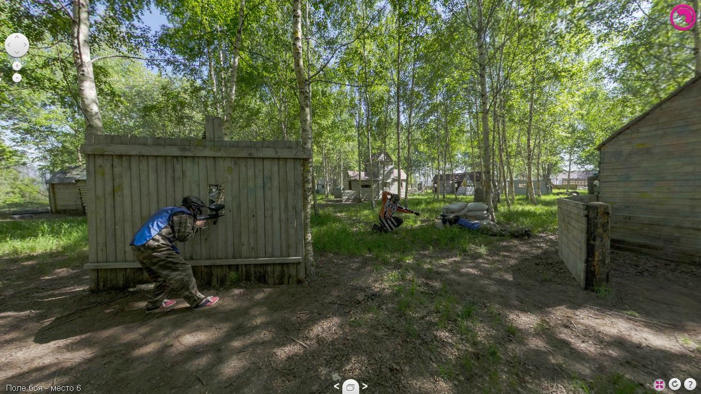 """Пейнтбольный клуб в СД """"Новинки"""""""