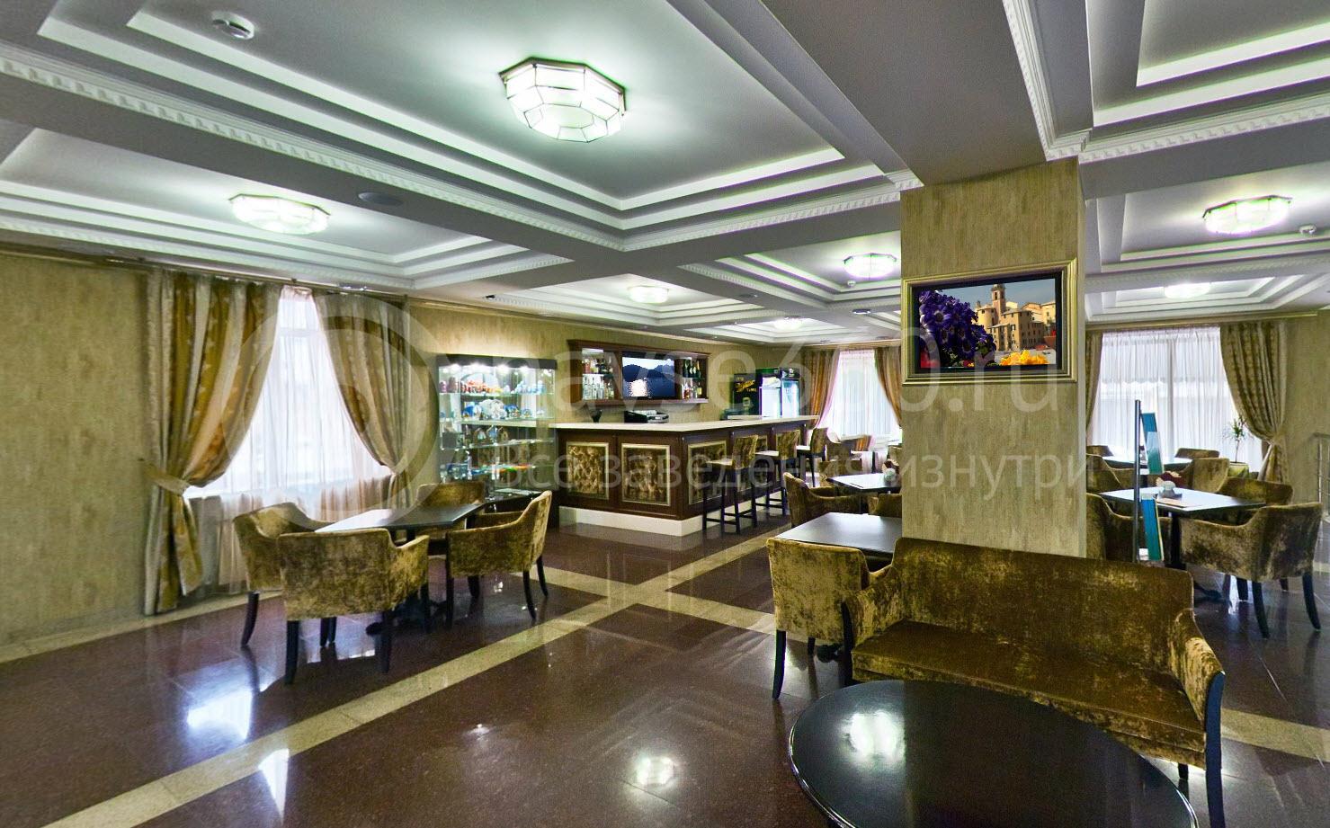 Гостиница Мальдини, Краснодар, ресепшн