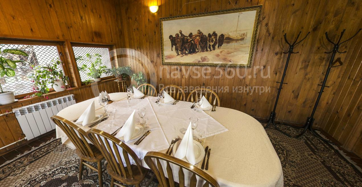 VIP зал в ресторане Бурлацкая слобода