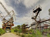 Заброшенный судостроительный завод