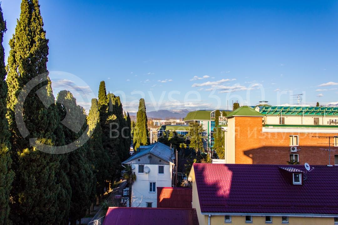 Вид из гостиницы Forward Aparthotel в  Сочи