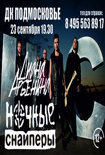 Концерт Дианы Арбениной «Ночные снайперы».