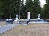 Памятник расстрелянной семье партизана