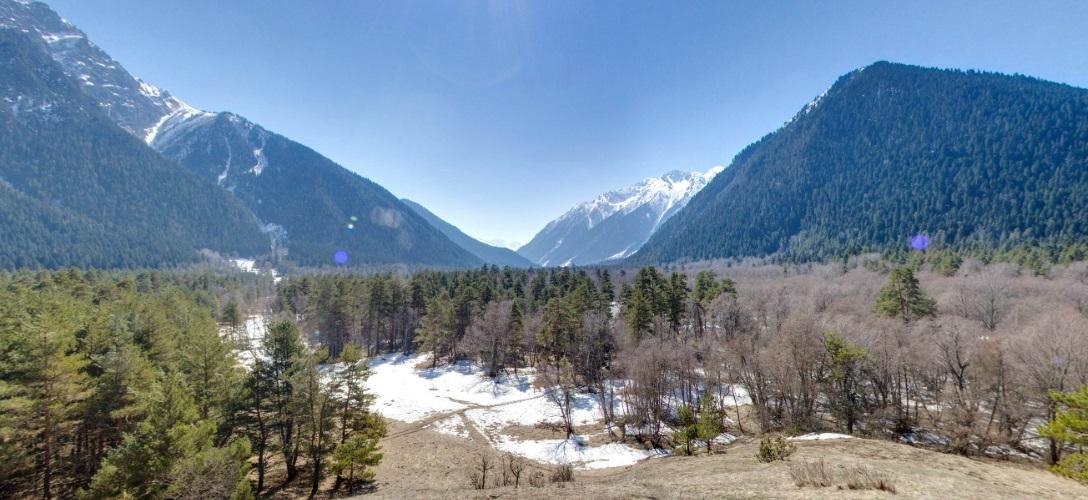 Ущелье реки Кизгыч