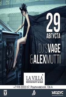 DJ VAGE & DJ ALEX MUTTI